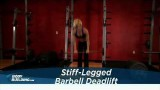 Stiff-Legged Deadlift – Bacak & Stiff-Legged Deadlift – Leg Exercise