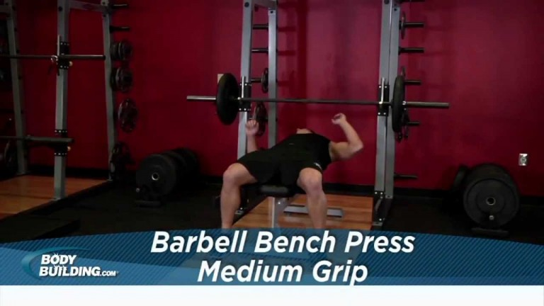 Barbell Bench Press Medium Grip Tekniği