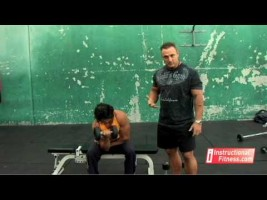 Fitness pazu hareketi | Dumbbell Concentration Curls