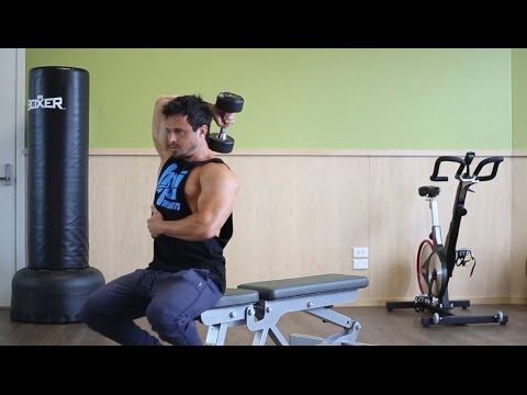 One Arm Dumbbell Triceps Extension Tekniği